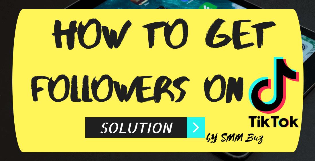 Get tiktok followers on tiktok